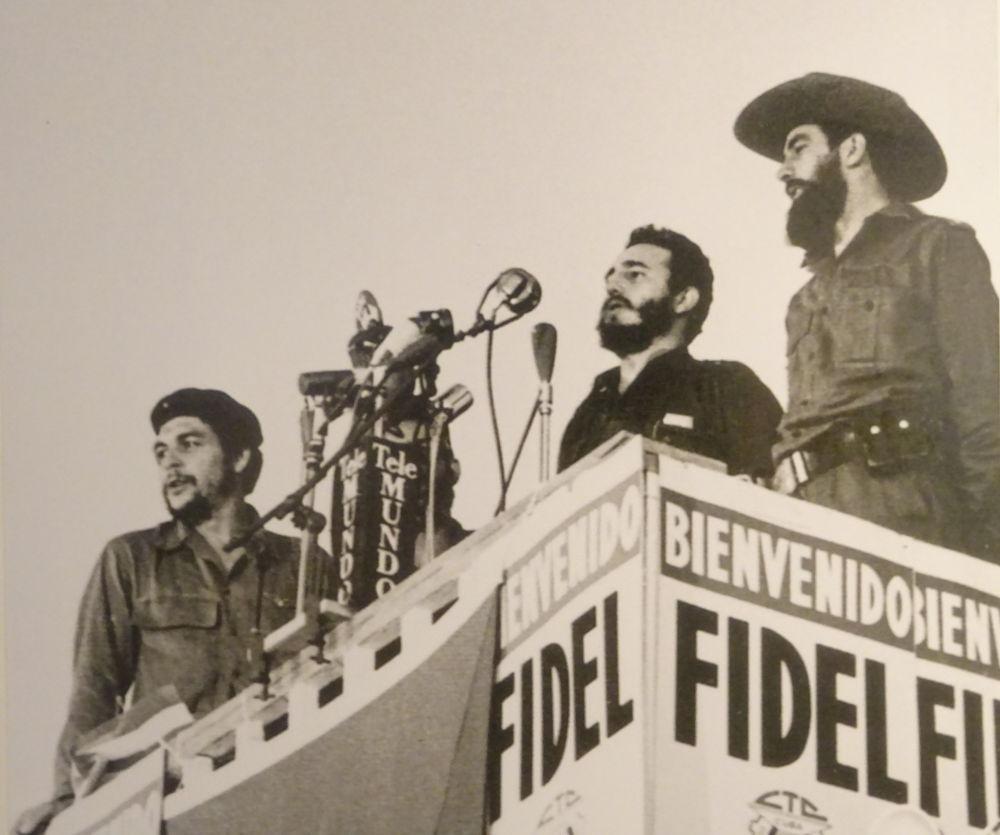 Fidel Castro - Che Guevara - Camilo Cienfuegos - La Habana - Cuba- Plaza de la Revolucion