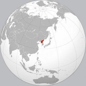 geografía corea del norte