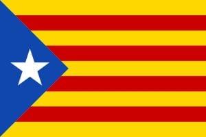 bandera de cataluña estelada