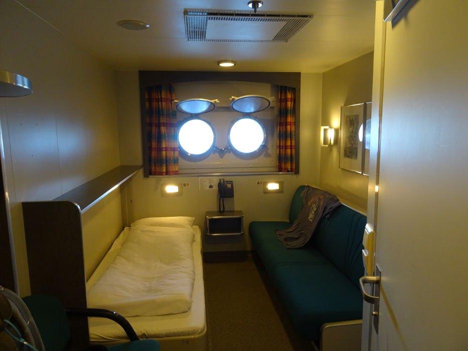 Hurtigruten-Nordkapp-cabina