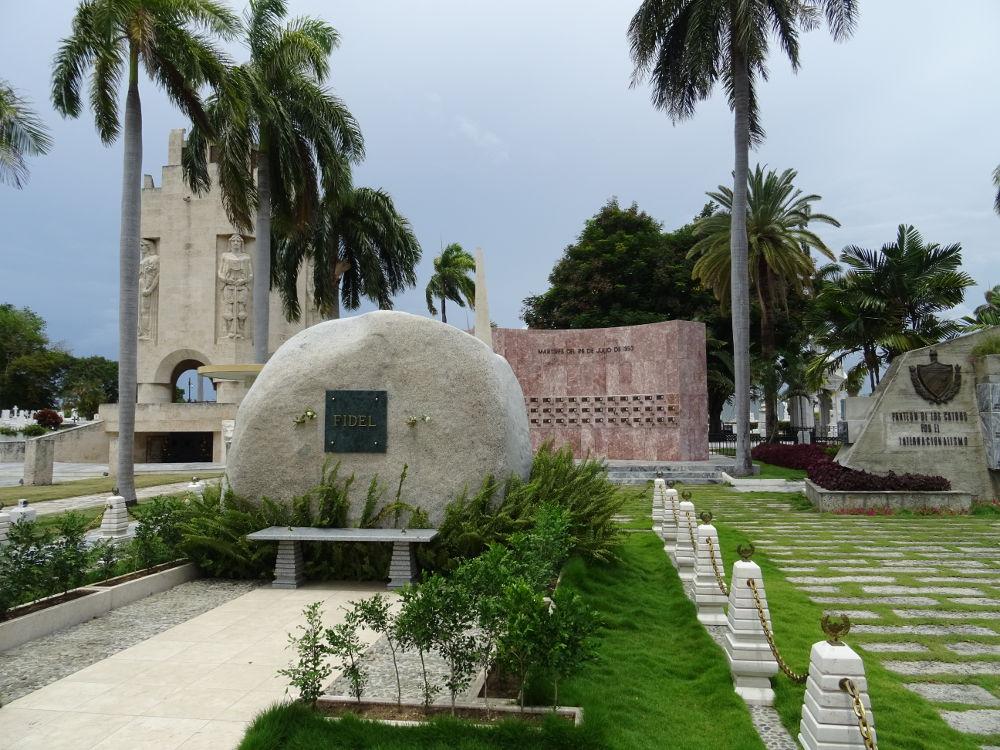 Cuba - Santiago de Cuba - Cementerio Monumental - Mausoleo Fidel Castro