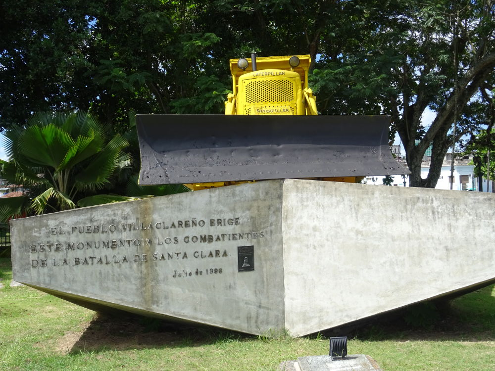 Cuba - Santa Clara - Monumento al Tren Blindado