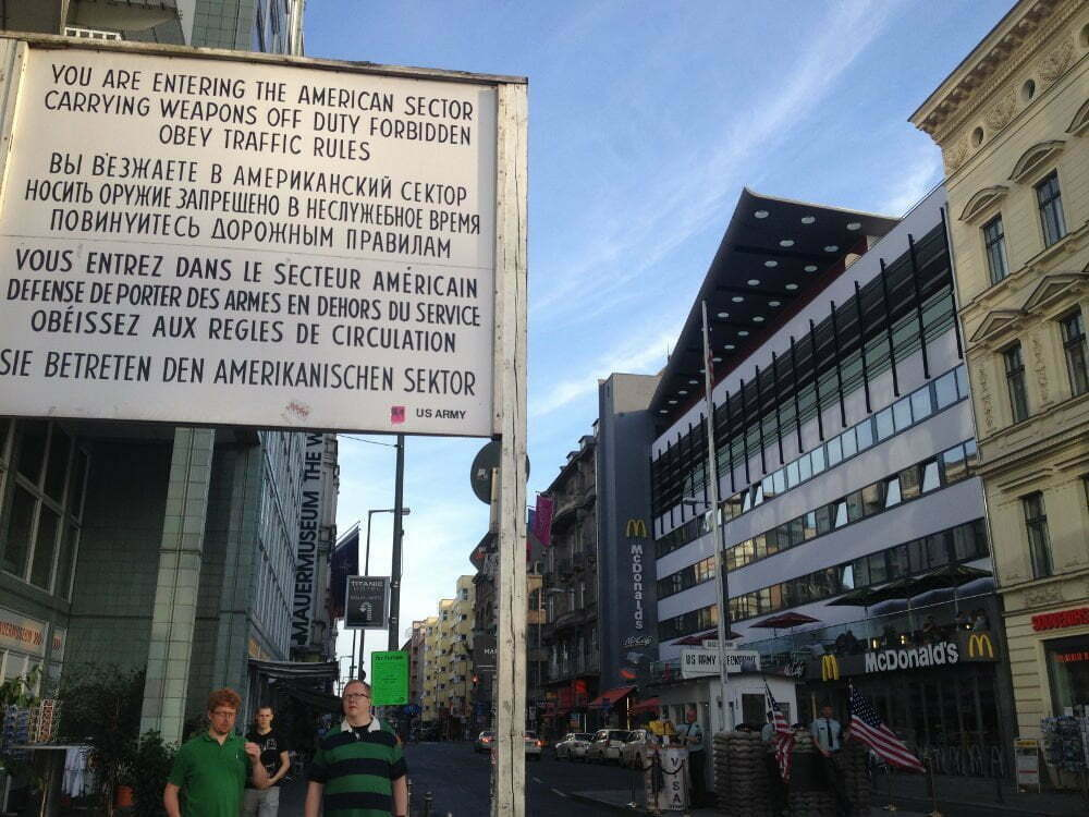 Germany - Berlin - Checkpoint Charlie