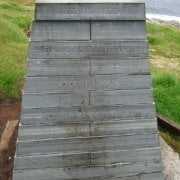 Noruega - Knivskjellodden - monumento
