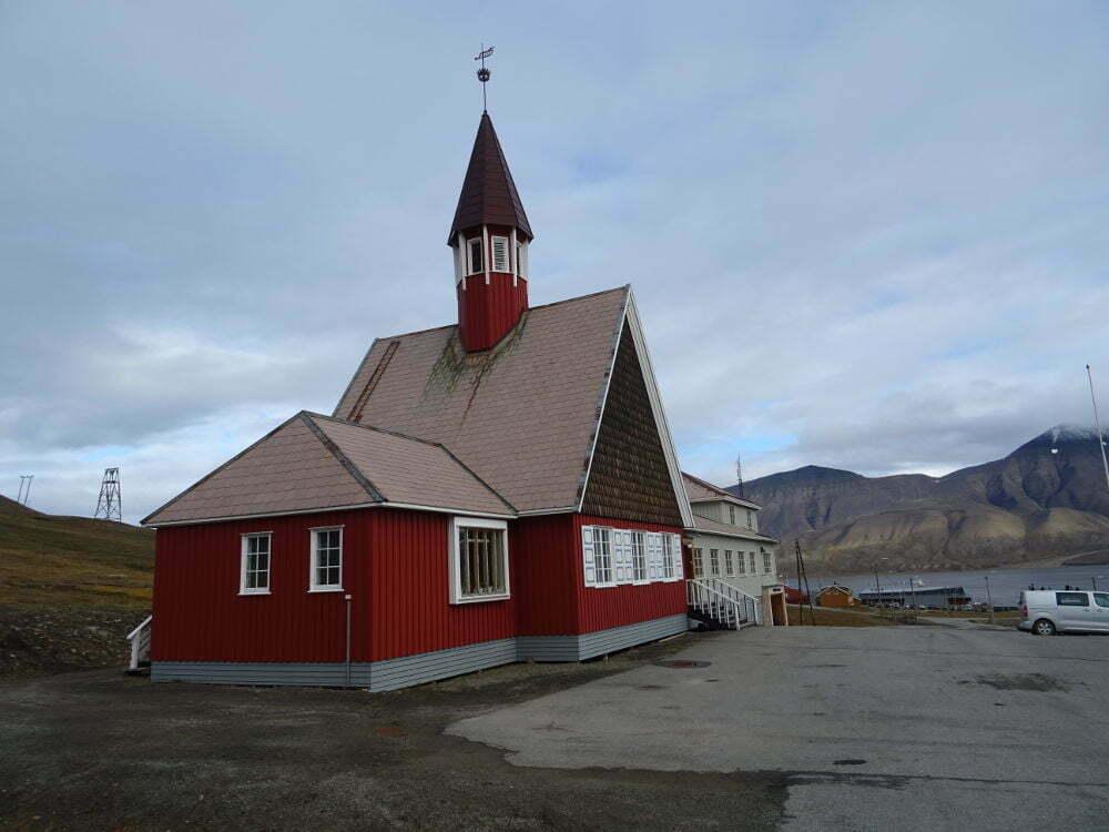 Svalbard Islands - Longyearbyen - Kirke