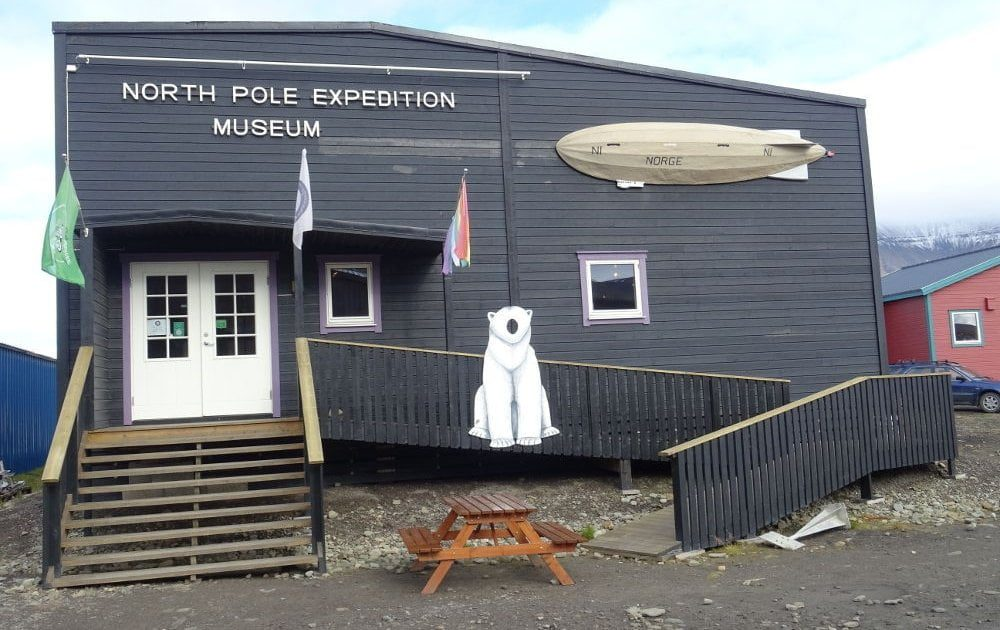 North Pole Expedition Museum Longyearbyen Islas Svalbard