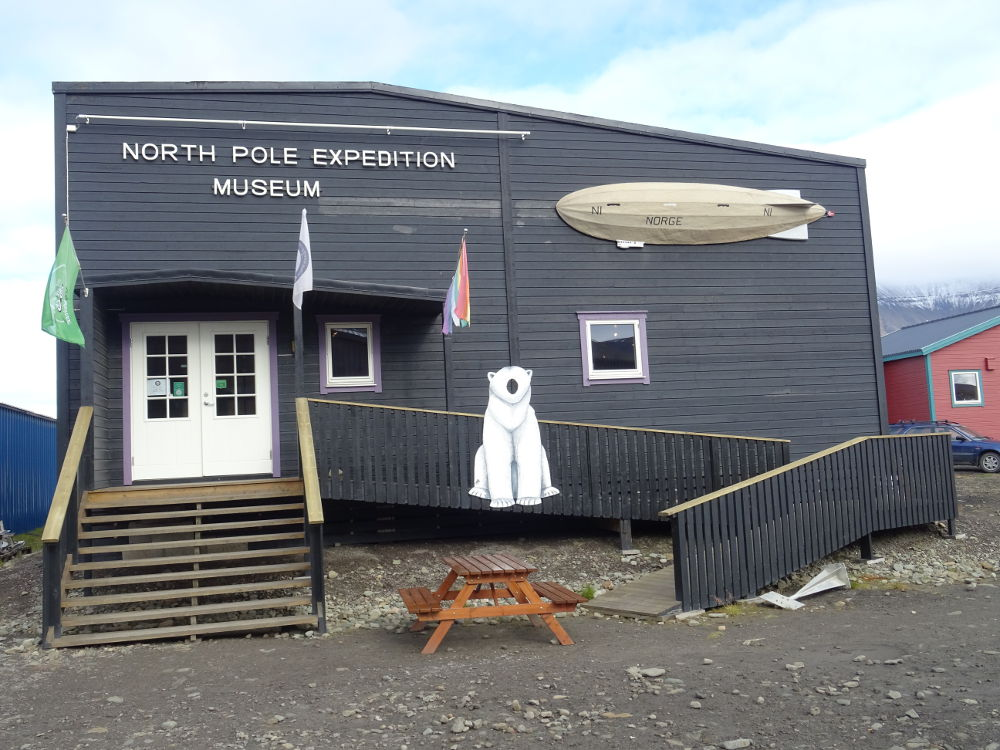 Svalbard Islands - Longyearbyen - North Pole Expedition Museum