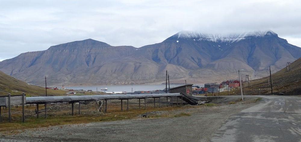 Svalbard Islands - Longyearbyen landscape