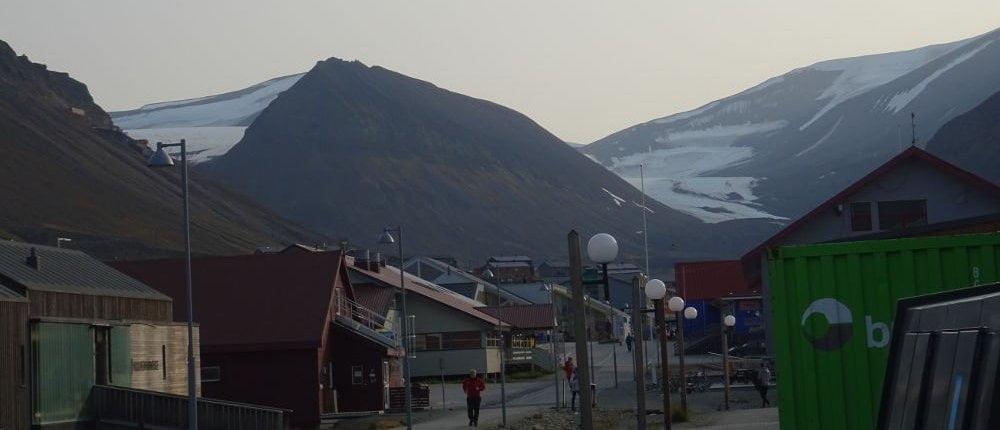 Longyearbyen-Svalbard landscape