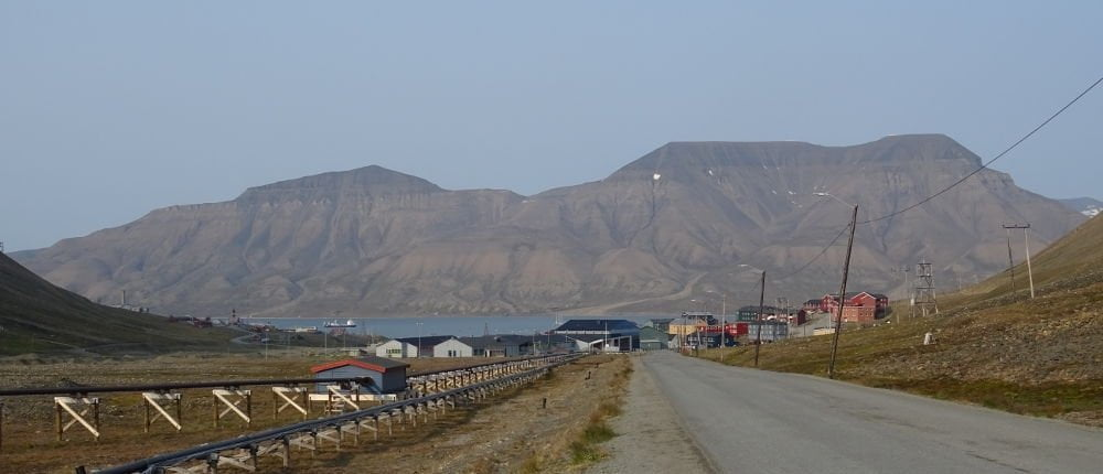 viale di Longyearbyen - Isole Svalbard