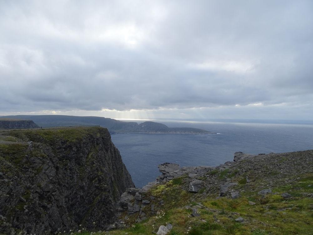 Nordkapp - Knivskjellodden desde lejos