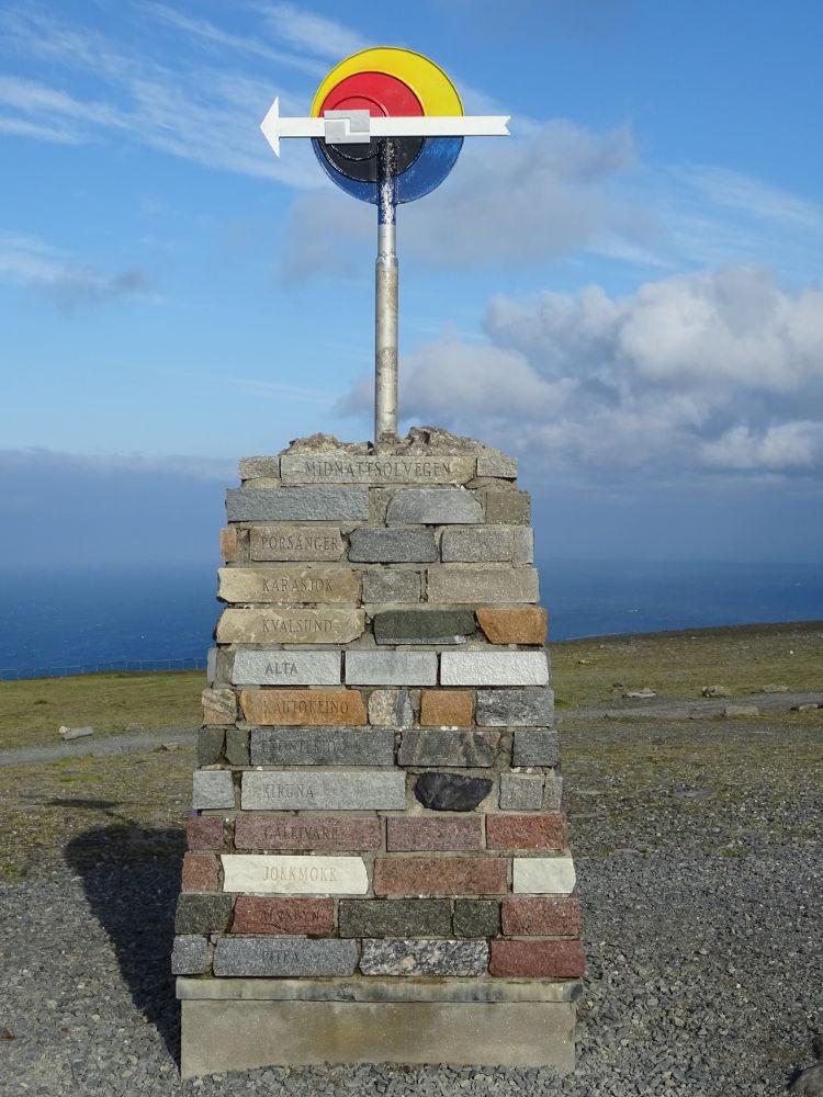 Nordkapp - flecha