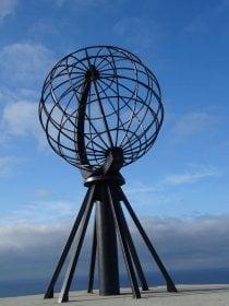 Norvegia - Nordkapp - mappamondo