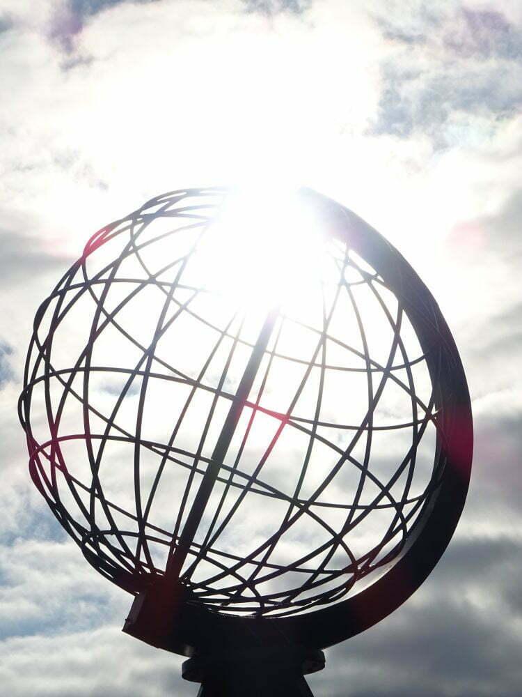 Nordkapp - sol en el polo