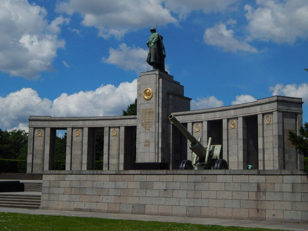 Germany - Berlin - Soviet Memorial Tiergarten