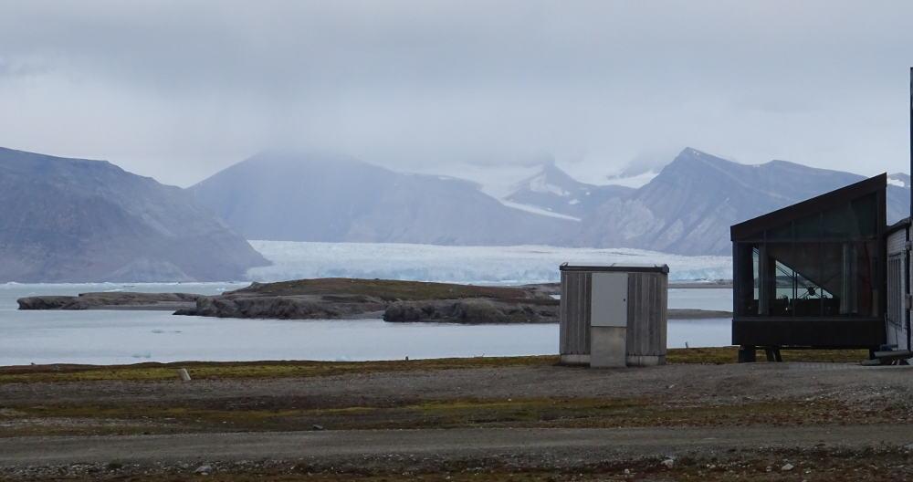 Svalbard Islands - Ny Ålesund - glacier