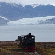 Islas Svalbard - Ny Ålesund - ferrocarril
