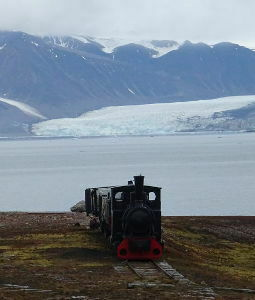 Svalbard Islands - Ny Ålesund - train