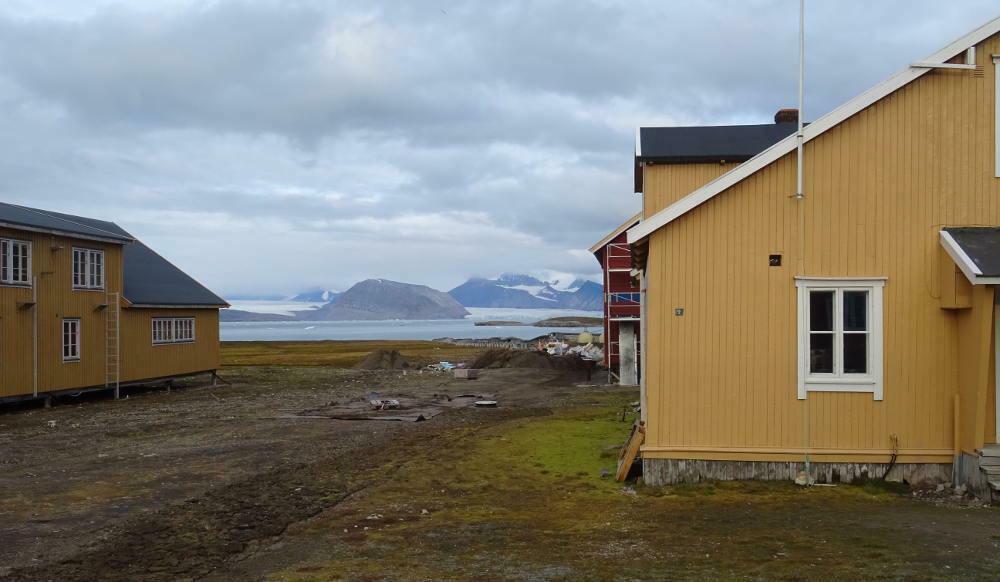 Ny-Ålesund-landscape