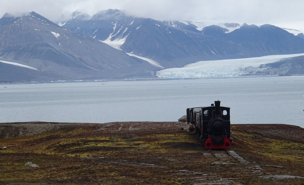 Svalbard Islands - Ny Ålesund - train