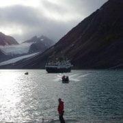 Svalbard Islands - Magdalenfjorden - zodiac
