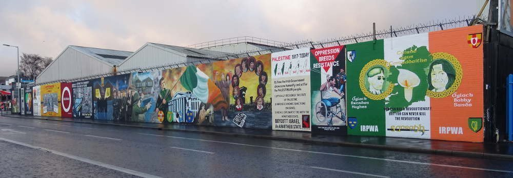 Irlanda - Belfast - Falls Road