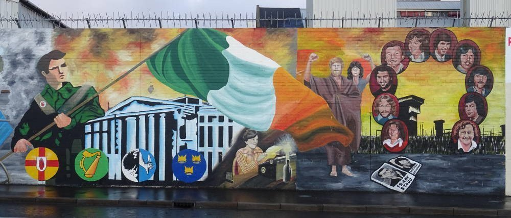 Ireland - Belfast - irish murales