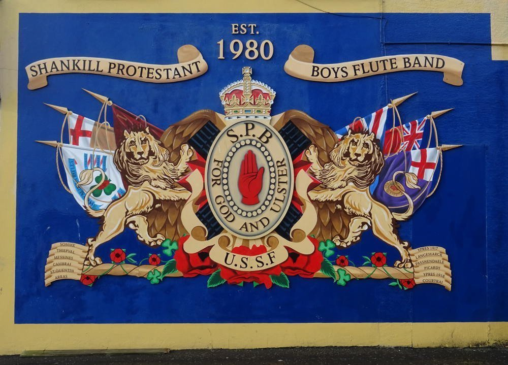 Ireland - Belfast - shankill protestant boys flute band