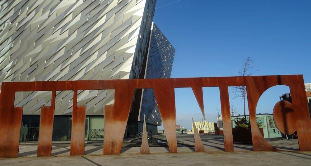 Ireland - Belfast - Titanic museum