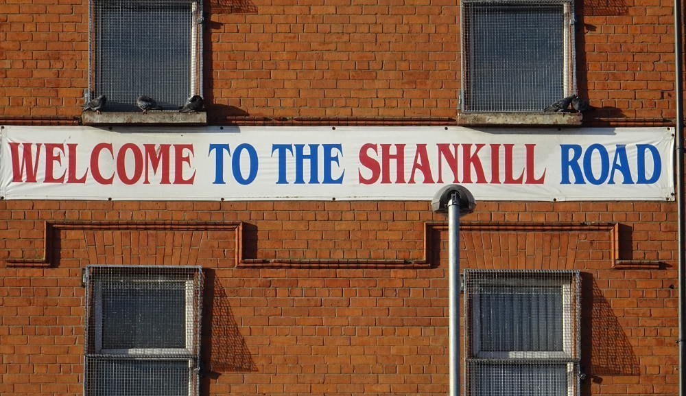 Ireland - Belfast - welcome to the shankill road