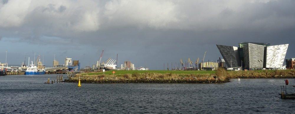 Ireland - Belfast - Titanic river