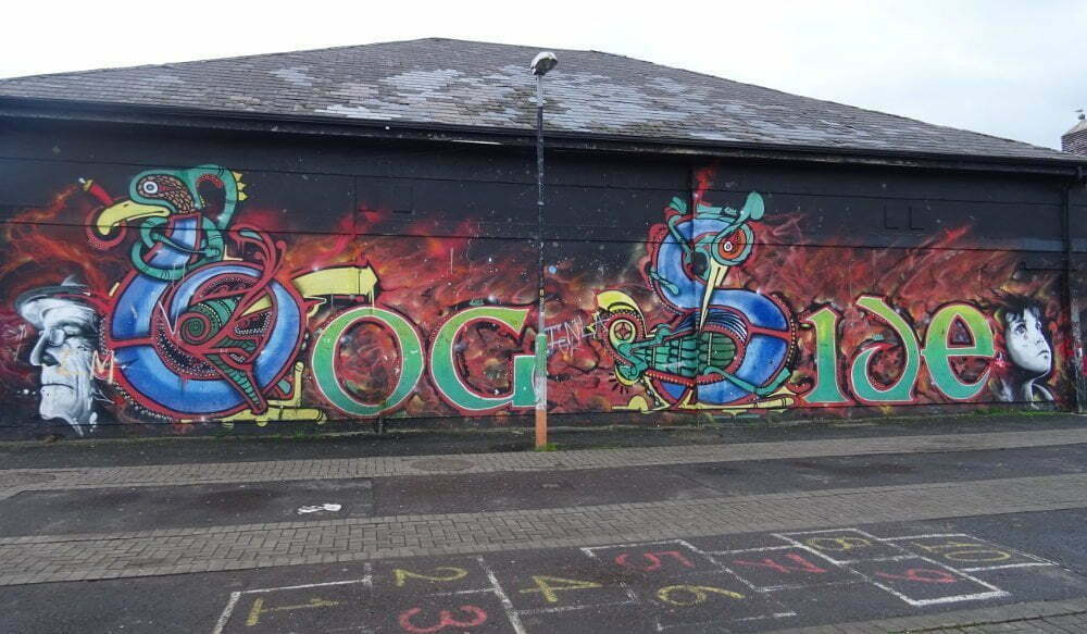 Irlanda - Derry - murales de Bogside