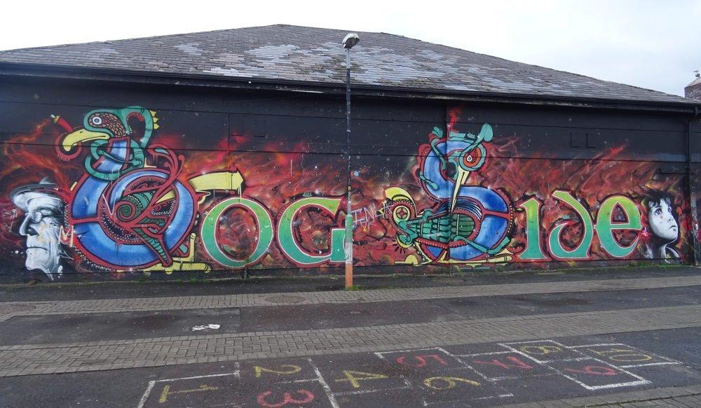 Ireland - Derry - Bogside murales