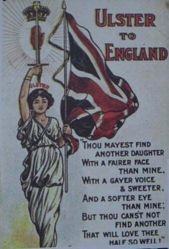 Ireland - Derry - loyalist Ulster to England
