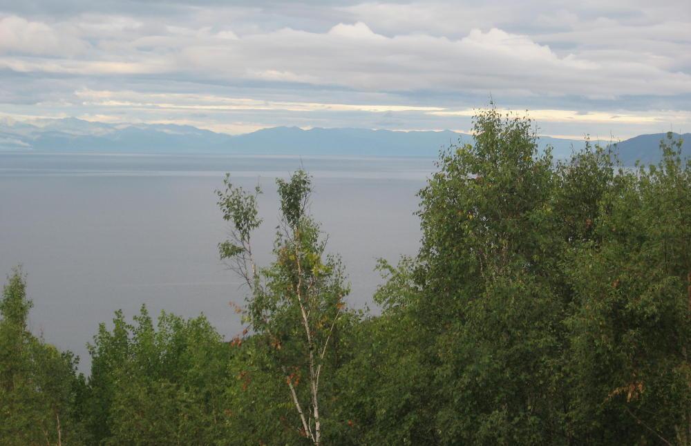 vista del Lago Bajkal dall'Osservatorio di Listvyanka