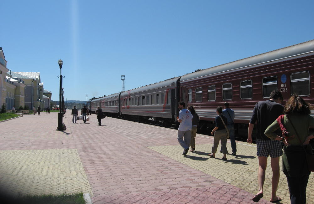 Trans-Siberian Railway - Russia - Наушки station