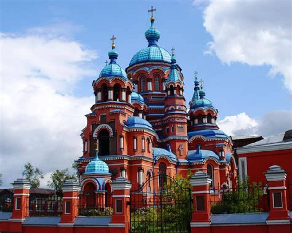chiesa Kazan Irkutsk