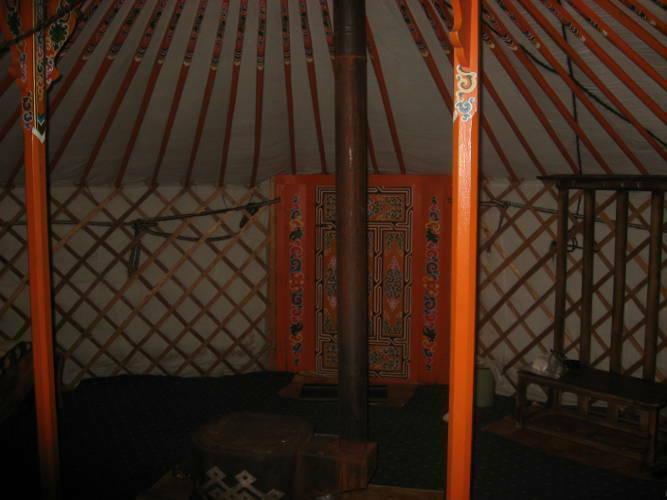 internal ger Mongolia
