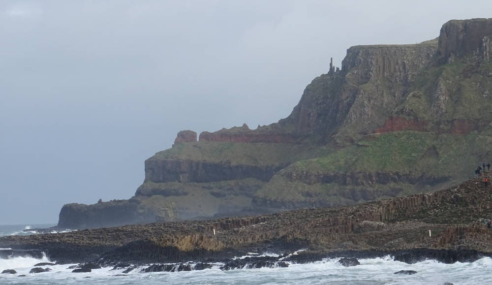 Ireland - The Giants' Causeway - chimmeys