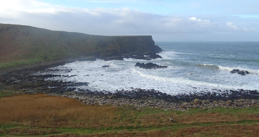 Ireland - The Giants' Causeway - start point
