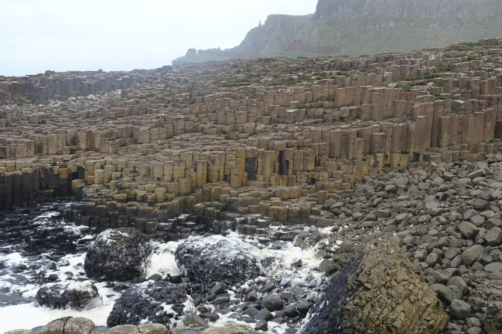 Ireland - The Giants' Causeway - colonne