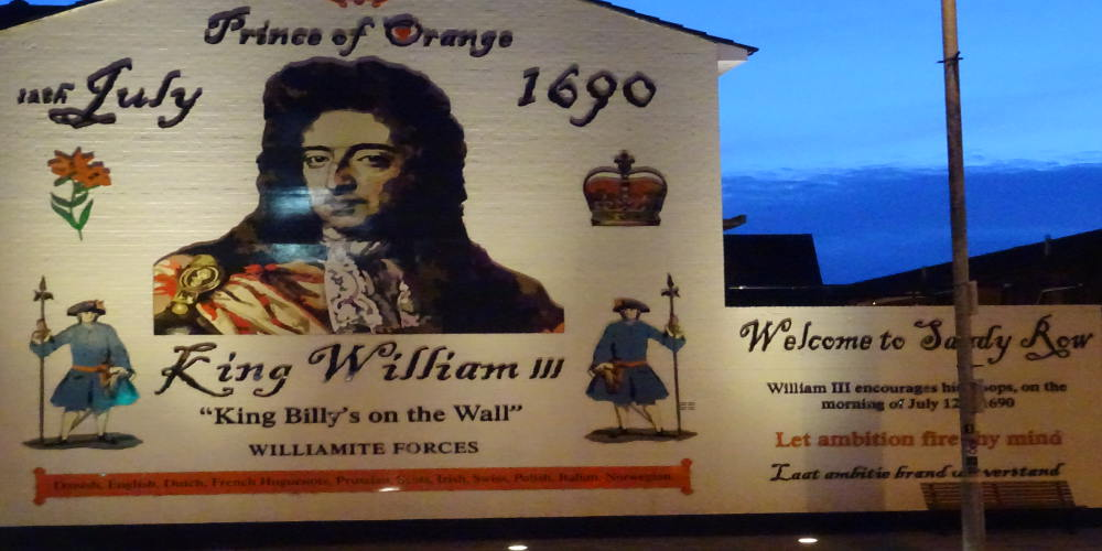 Belfast-sandy-row- king-william-orange-murales