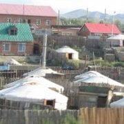 Mongolia - ger nella periferia di Ulaan Baatar