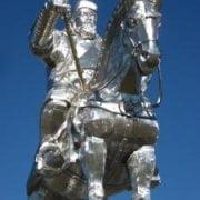 Mongolia - Monumento a Gengis Kan