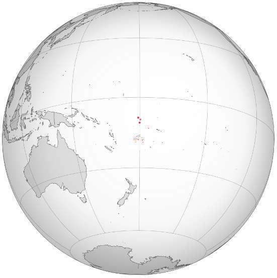 Tuvalu geographic