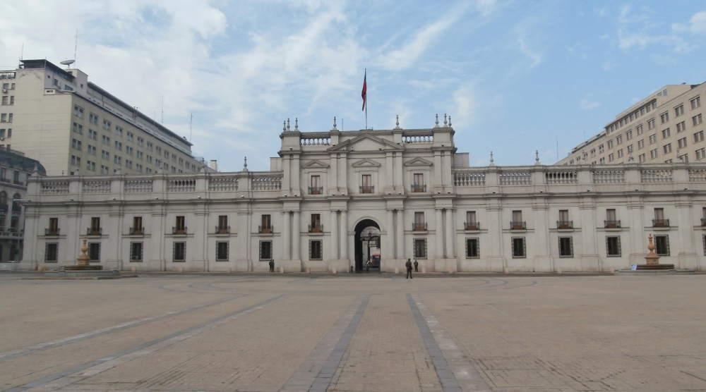 Chile - Santiago de Chile - Palacio de La Moneda