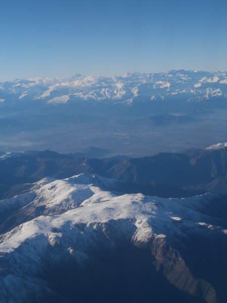 Chile - Santiago de Chile - Cordillera de los Andes