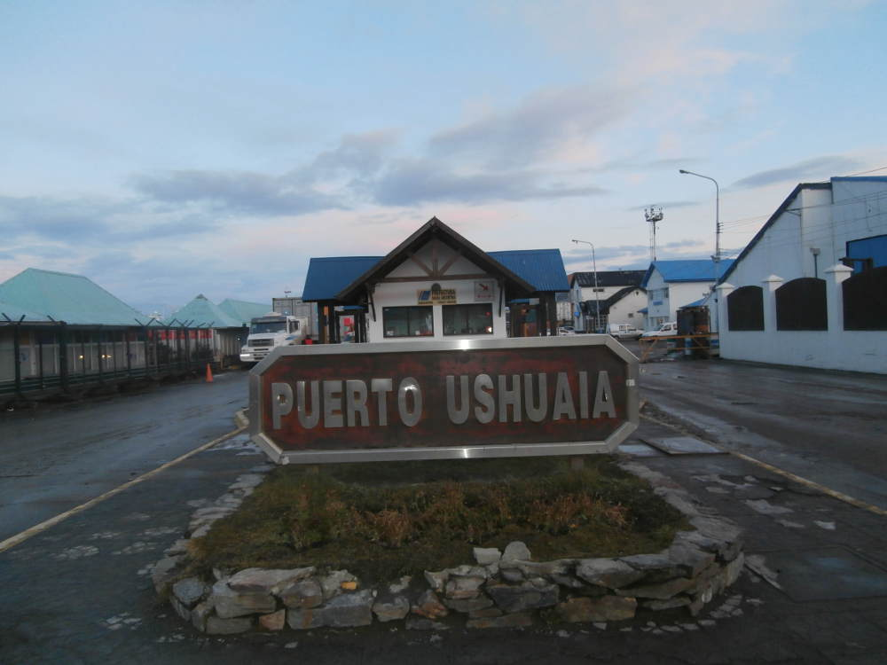 Argentina - Port of Ushuaia