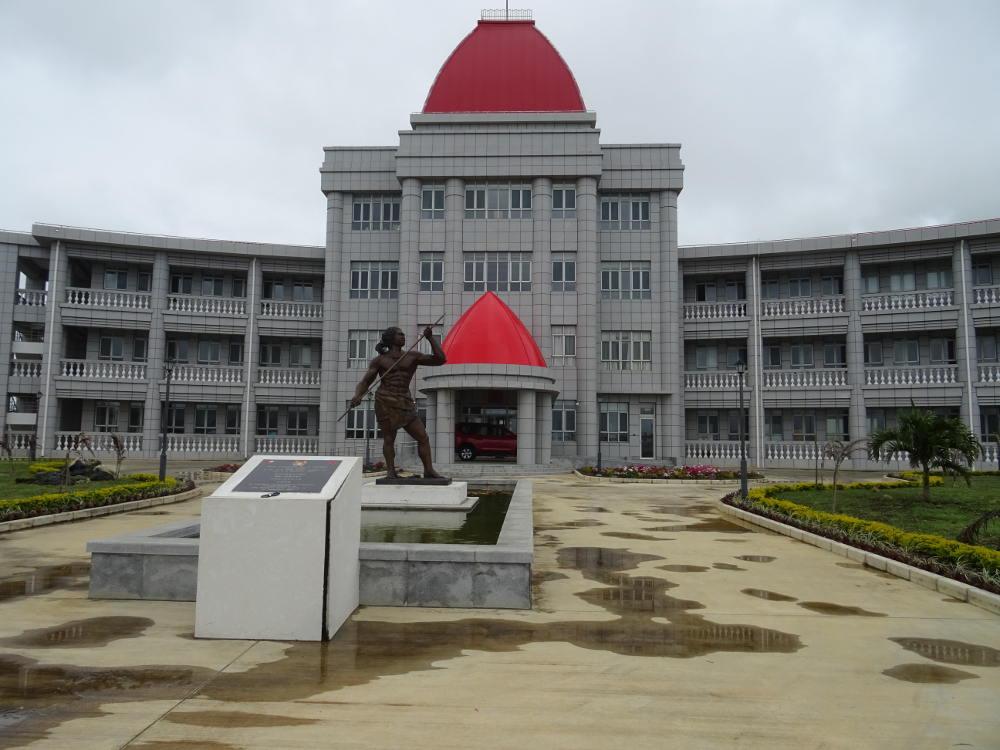 Tonga - Nuku'alofa - Pangai Si'i Palazzo del Governo
