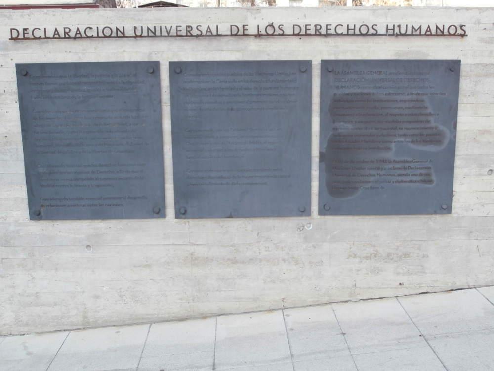 Chile - Santiago de Chile - Declaracion universal de los derechos humanos